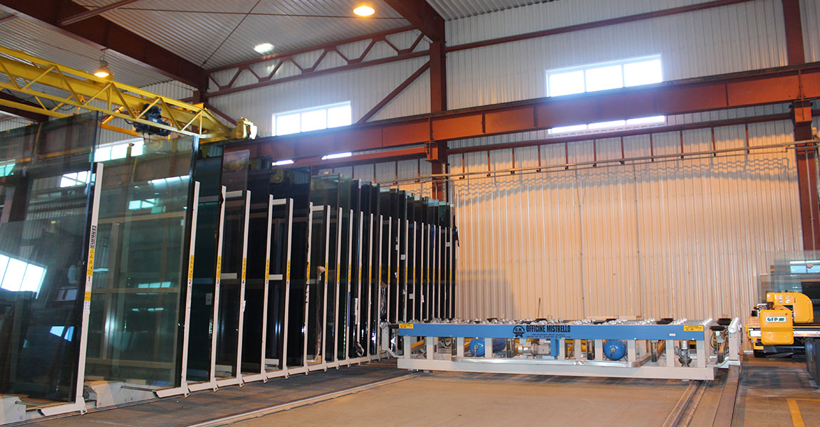 GFPm 3210*6000mm Glass cutting line (Italy)